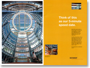 business writing sample smithgroup recruitment brochure by tina